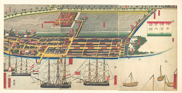 Kanagwa Yokohama minato...zue<br/>Pictorial Guide to Yokohama Harbor