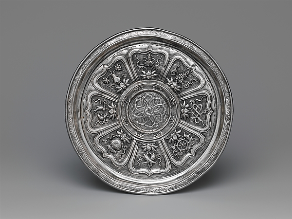 Cup Stand with the Eight Buddhist Treasures