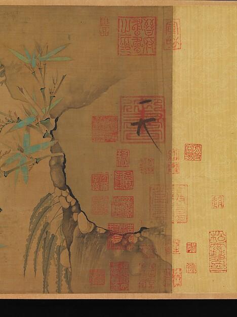 北宋   徽宗   竹禽圖   卷<br/>Finches and Bamboo