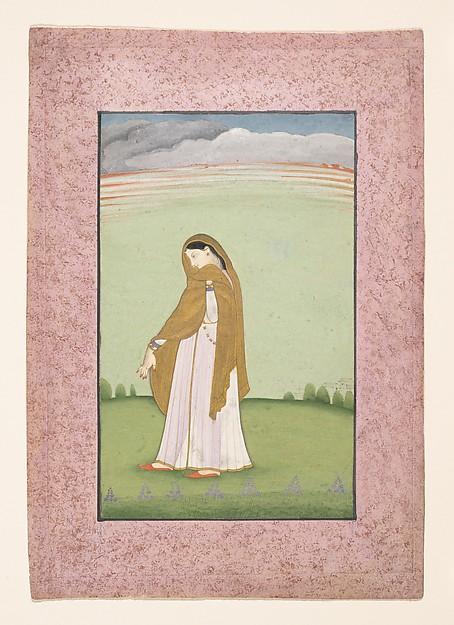 Abhisarika Nayika, a Heroine Longing for Her Lover