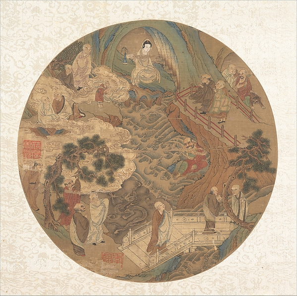 Guanyin and the Sixteen Luohans