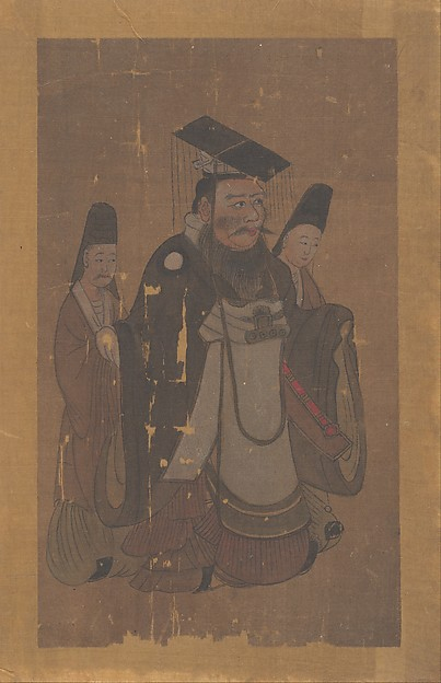Emperor and Two Attendants