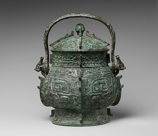 Covered Ritual Wine Bucket
