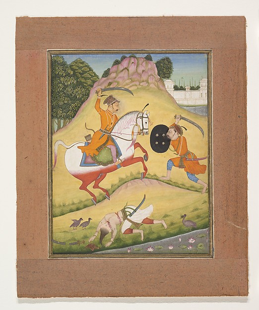 Nata Ragina: Folio from a ragamala series (Garland of Musical Modes)