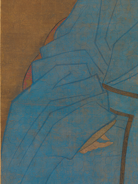 明  阮祖德  抑齋曾叔祖八十五齡壽像  軸<br/>Portrait of the Artist's Great-Granduncle Yizhai at the Age of Eighty-Five