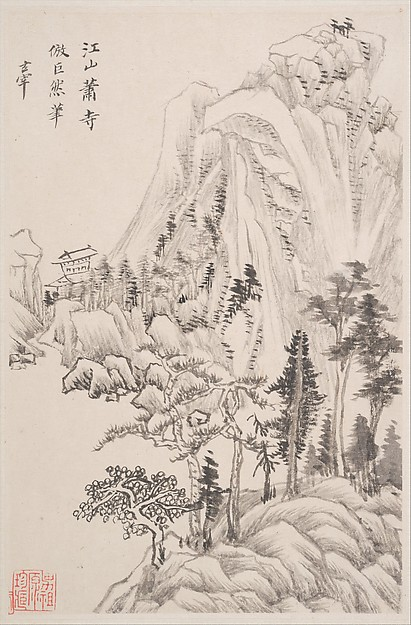 Landscapes after old masters