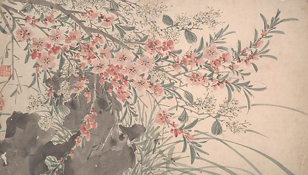明     仿陳淳     雜花圖     冊<br/>Garden Flowers