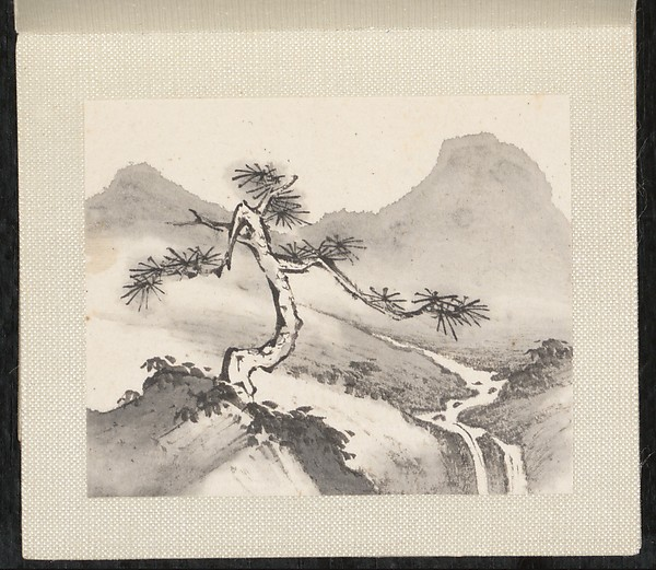 清 張宗蒼 山水 冊 紙本<br/>Miniature landscapes