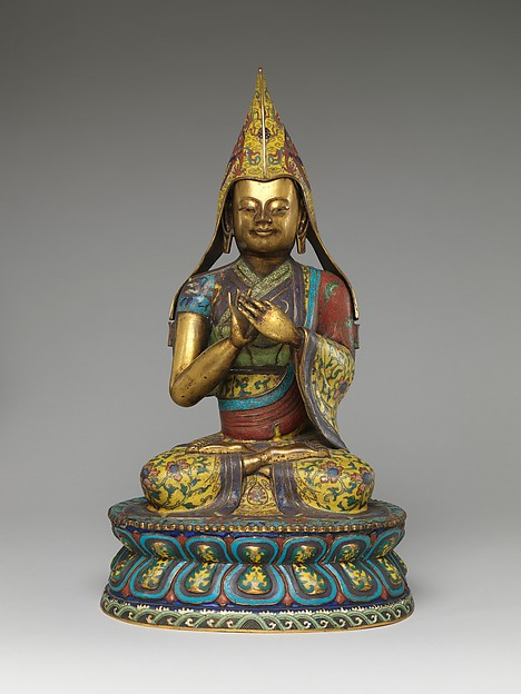 Figure of a Lama