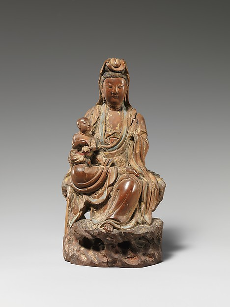Bodhisattva Avalokiteshvara as the Bestower of Sons (Songzi Guanyin)