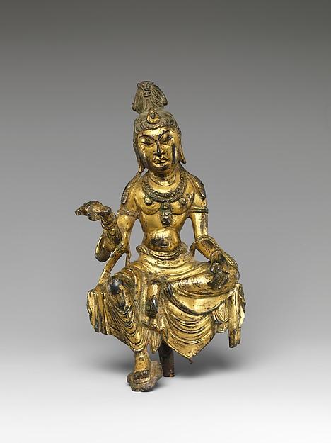 Bodhisattva, probably Manjushri (Wenshu 文殊普薩)