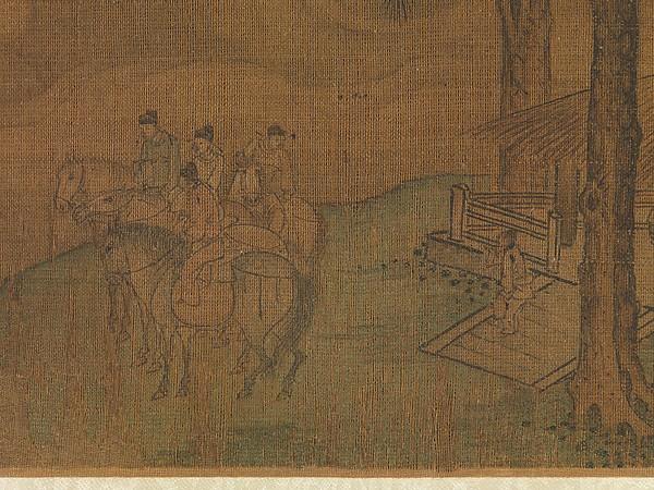 金 傳楊邦基 聘金圖 巻<br/>A Diplomatic Mission to the Jin