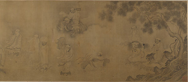 Taoist Sages Crossing the Sea