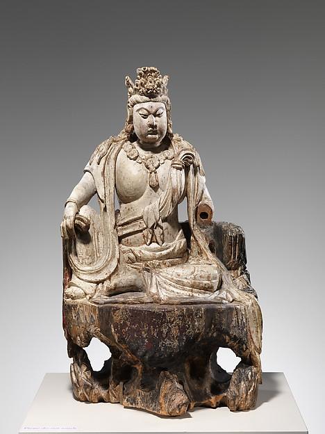 水月觀音菩薩<br/>Bodhisattva Avalokiteshvara in Water Moon Form (Shuiyue Guanyin)