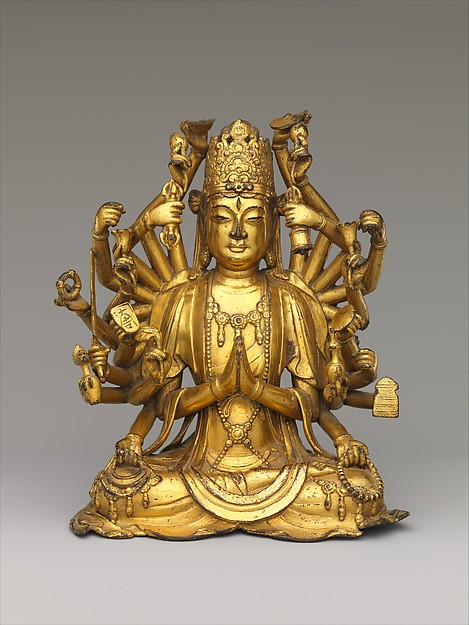 Bodhisattva Avalokiteshvara with One Thousand Hands and One Thousand Eyes (Qianshou Qianyan Guanyin)