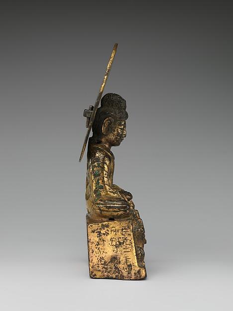 Buddha, probably Shakyamuni (Shijiamouni 釋迦牟尼佛)