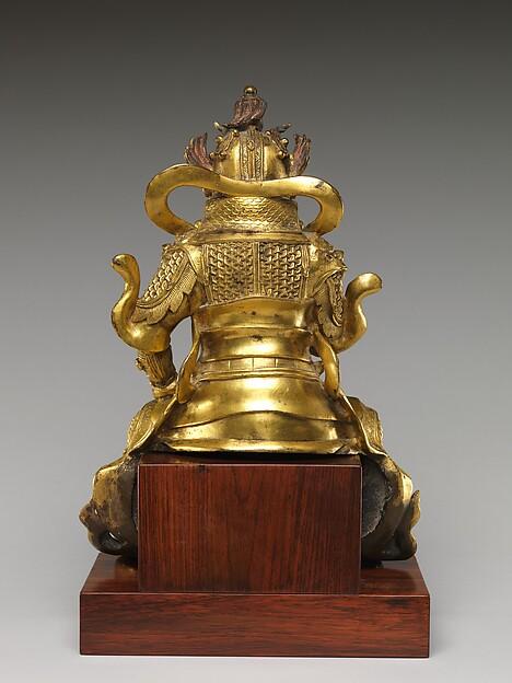 天王<br/>Guardian, probably a Lokapala (Tian wang)