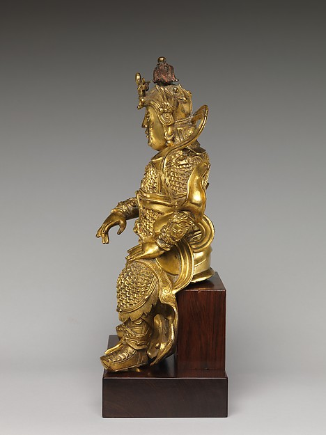 Guardian, probably a Lokapala (Tian wang)