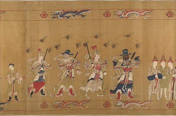 Investiture of a Daoist Deity