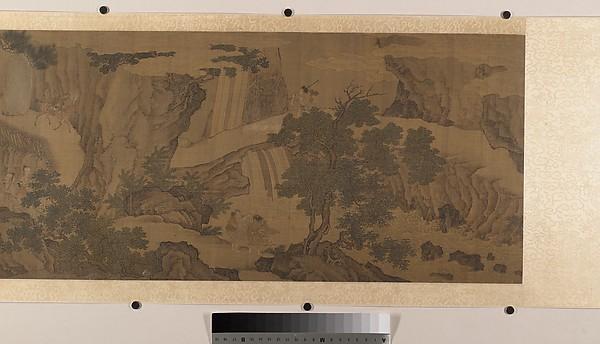 明  佚名  游仙圖  卷<br/>Daoist Immortals in a Landscape