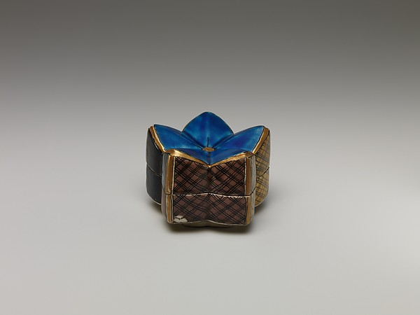Incense Box in the Shape of a Plum Blossom