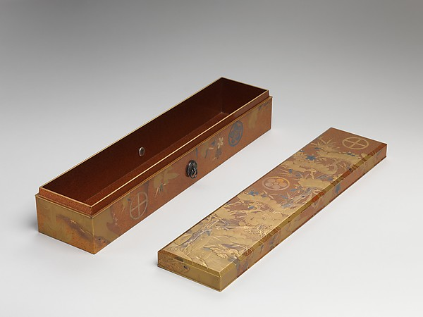 Box with Design of Pine, Bamboo, and Cherry Blossom