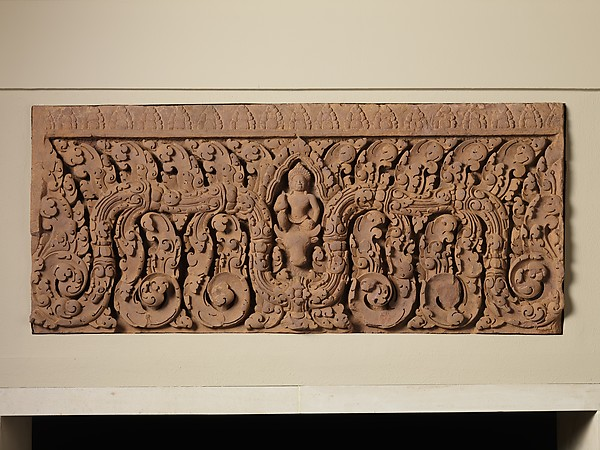 Lintel with Shiva on Nandi