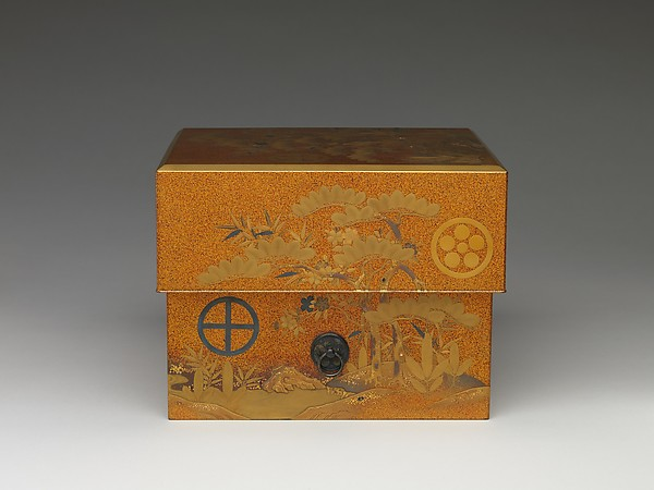 Box with Design of Pine, Bamboo, and Plum