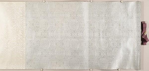 Three Buddhist prayer rolls (fragments)