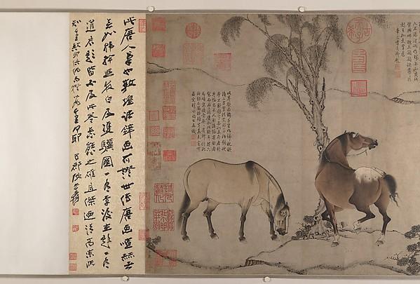 南宋/元  佚名  六馬圖  卷<br/>Six Horses