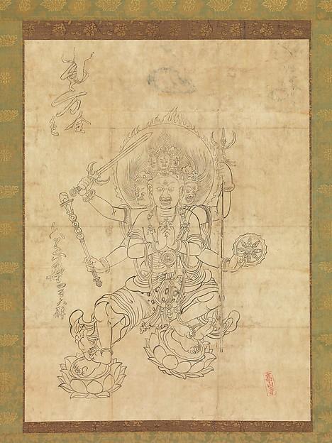 大威徳明王 <br/>Daiitoku Myōō