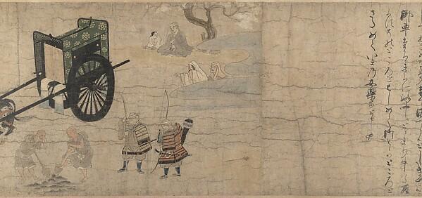 北野天神縁起絵巻 <br/>Illustrated Legends of the Kitano Tenjin Shrine (Kitano Tenjin engi emaki)