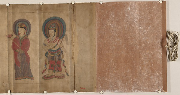 Part of a Buddhistic Sutra