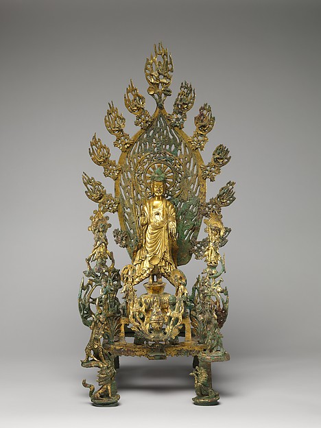 Altarpiece Dedicated to Buddha Maitreya