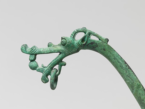 Ladle with Handle in the Shape of a Dragon's Head