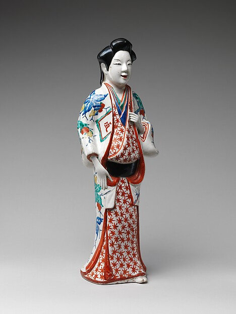 Figure of a Standing Beauty
