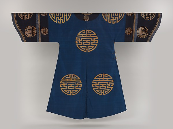 "Woman's Robe with ""Longevity"" Medallions"