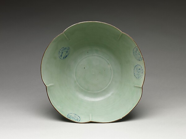 Large Bowl with Floral Design