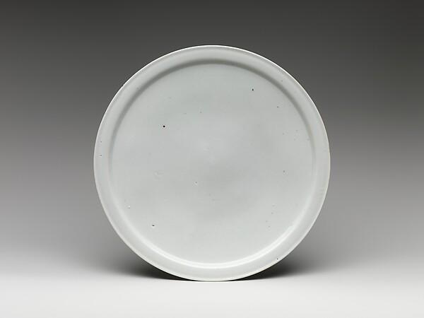 백자 접시 조선<br/>白磁楪匙 朝鮮<br/>Dish