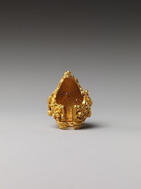 Ear Ornament in the form of Vishnu Riding Garuda
