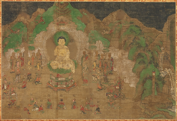 Life of the Buddha: King Bimbisara's Conversion