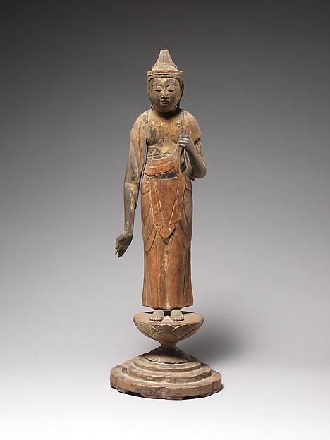 聖観音菩薩立像<br/>Shō Kannon