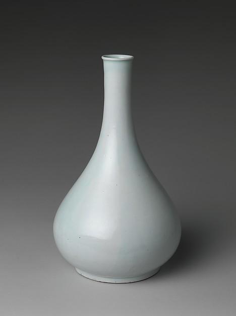 백자 병 조선<br/>白磁甁 朝鮮<br/>Bottle