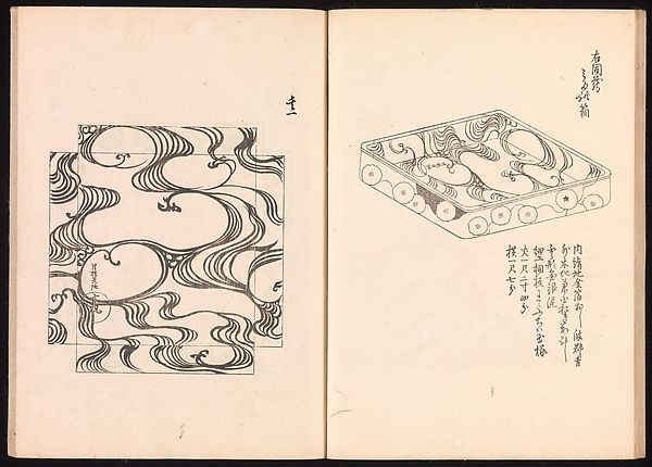 One Hundred Newly Selected Designs by Kōrin (Kōrin shinsen hyakuzu)