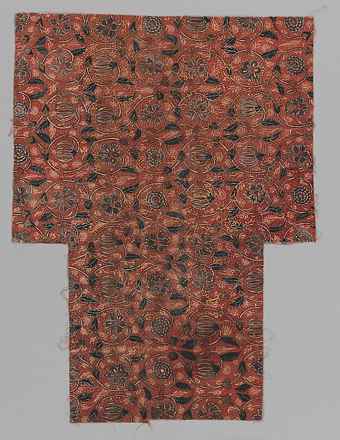 Sarasa with Gilded Floral Pattern