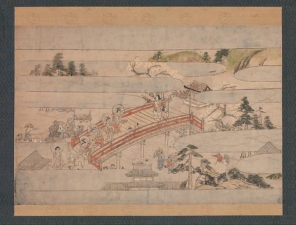 秋夜長物語絵巻断簡  <br/>The Final Scene from A Long Tale for an Autumn Night (Aki no yonaga monogatari)