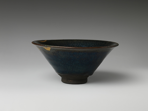 "Bowl with ""Hare's Fur"" Decoration"