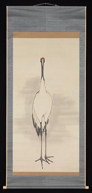 鶴図<br/>Cranes