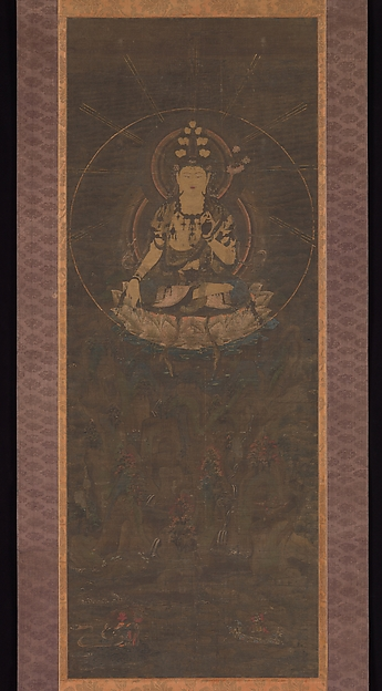 十一面観音影向図