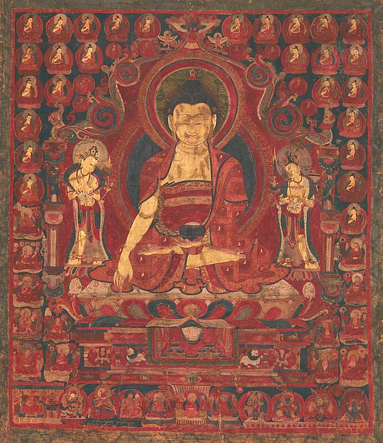 Buddha Shakyamuni as Lord of the Munis